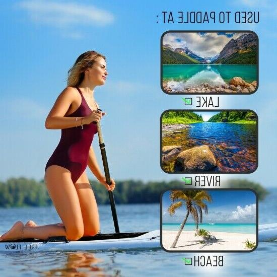 Serene-Life Inflatable Stand Board W/
