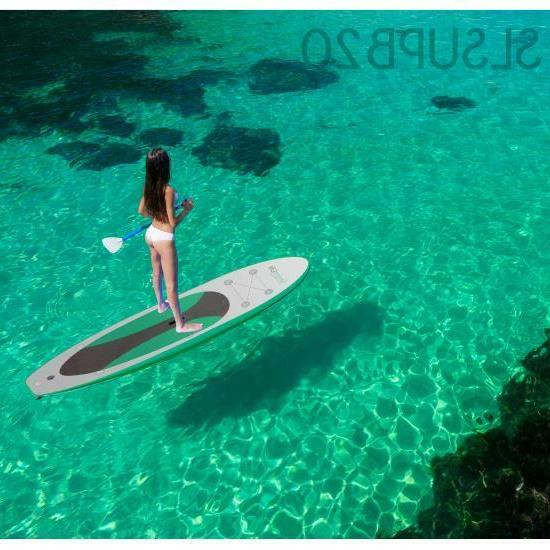 Serene-Life Inflatable Stand Up Board W/ Accessories