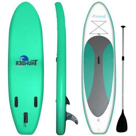 Serene-Life SLSUPB20 10 Inflatable Board W/ Accessories