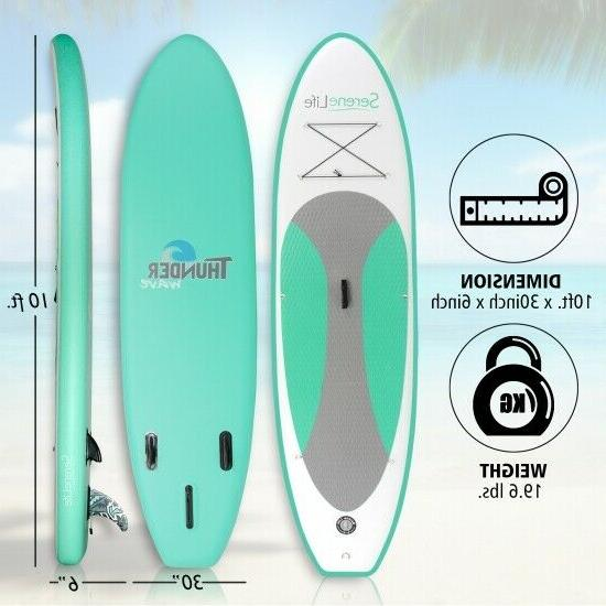 Serene-Life SLSUPB20 10 Inflatable Up Board Accessories