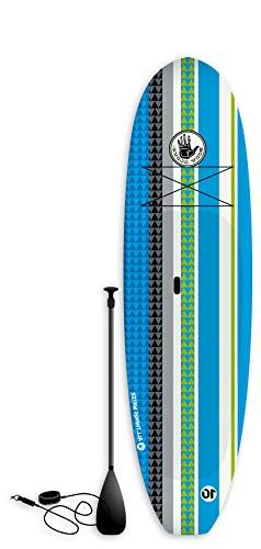 Body Glove Soft Sup Paddleboard Package with Paddle & Leash,