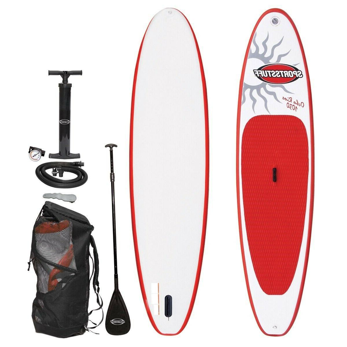 sport paddle board with accessories inflatable raft