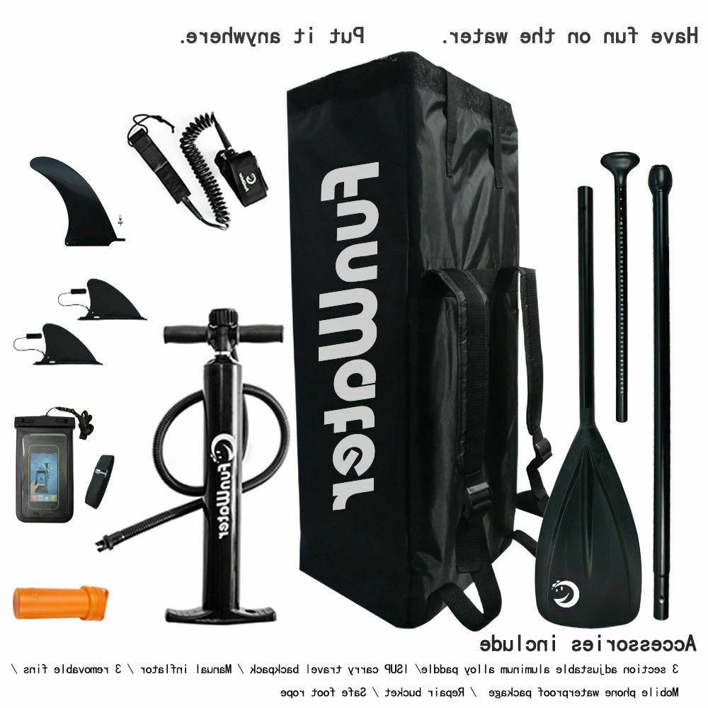 Stand ISUP10'6''*33''*6''w/Adjustable Paddle,Backpack,leash,pump