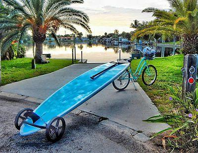 standup paddle board carrier paddle board wheeled