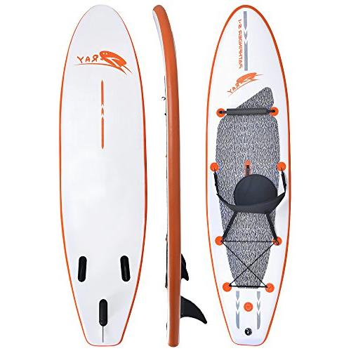 Blue 10' Paddleboard with Paddle and