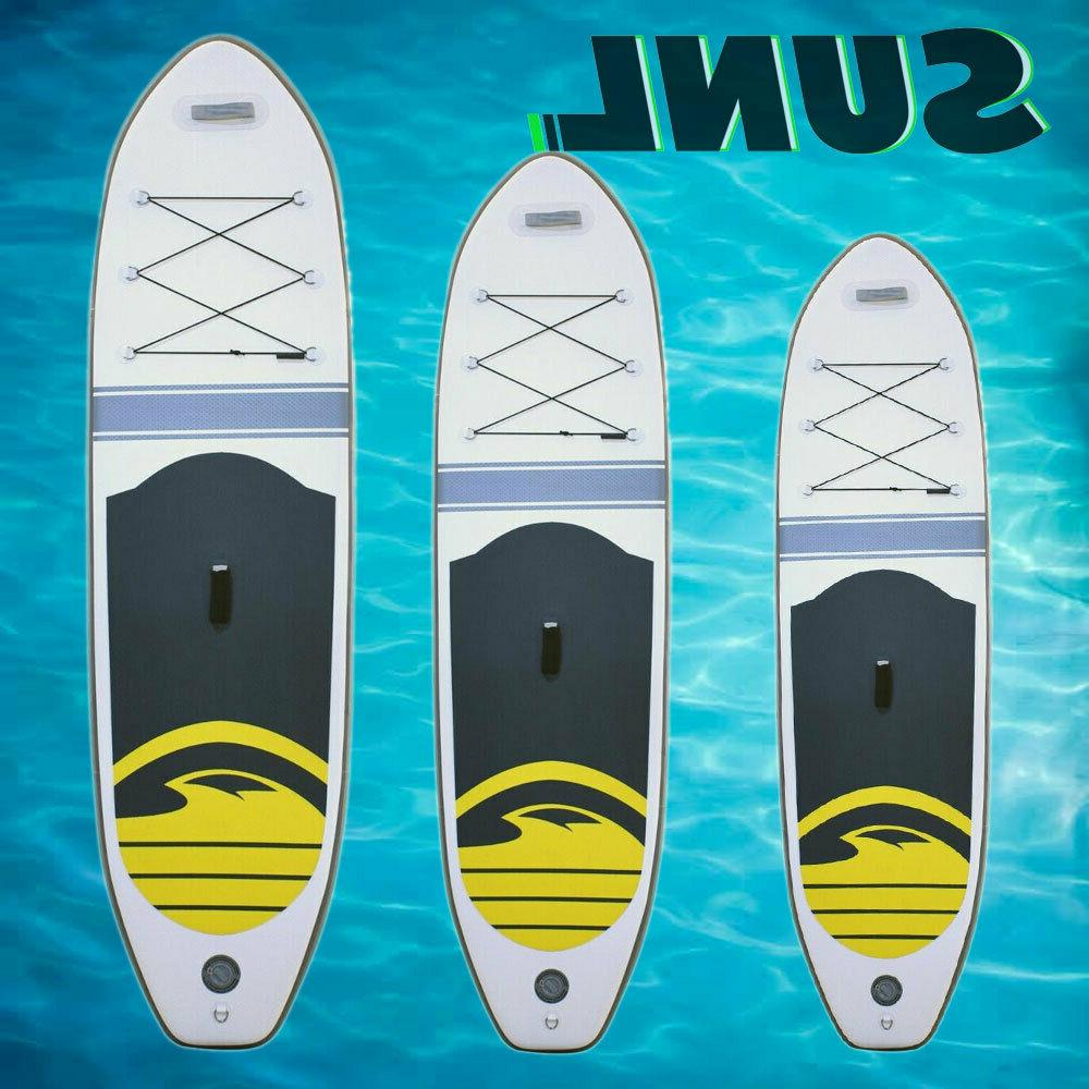 sunl inflatable stand up paddle board sup