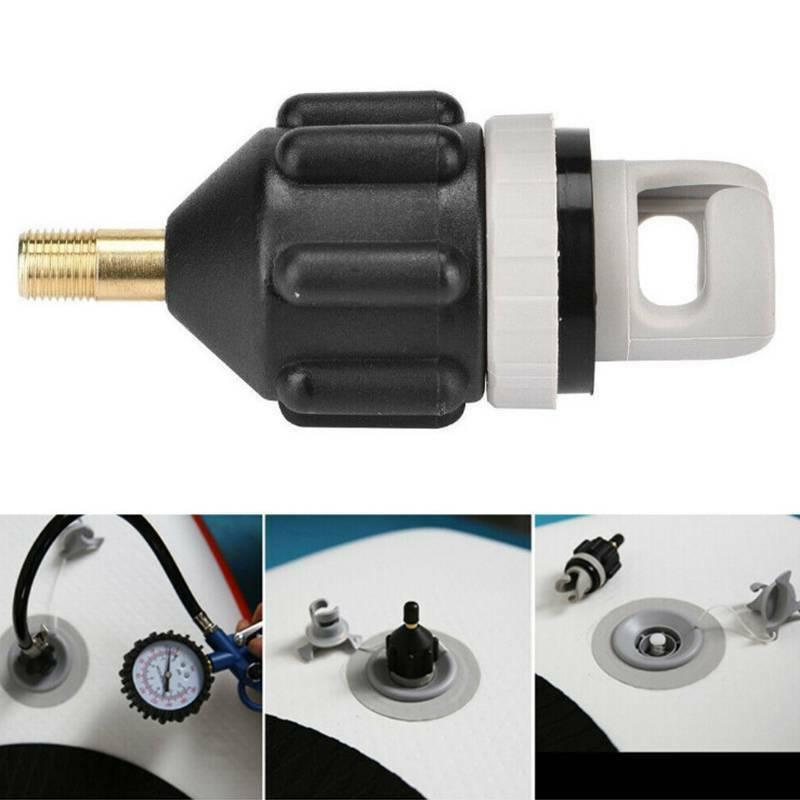inflatable boat pump valve adapter for kayaking