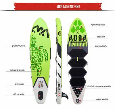 Aqua Marina BT-17TH Inflatable surf surfboard with pedal ISUP