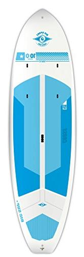 BIC Sport Tough-TEC Cross SUP Stand Up Paddleboard, White/Bl