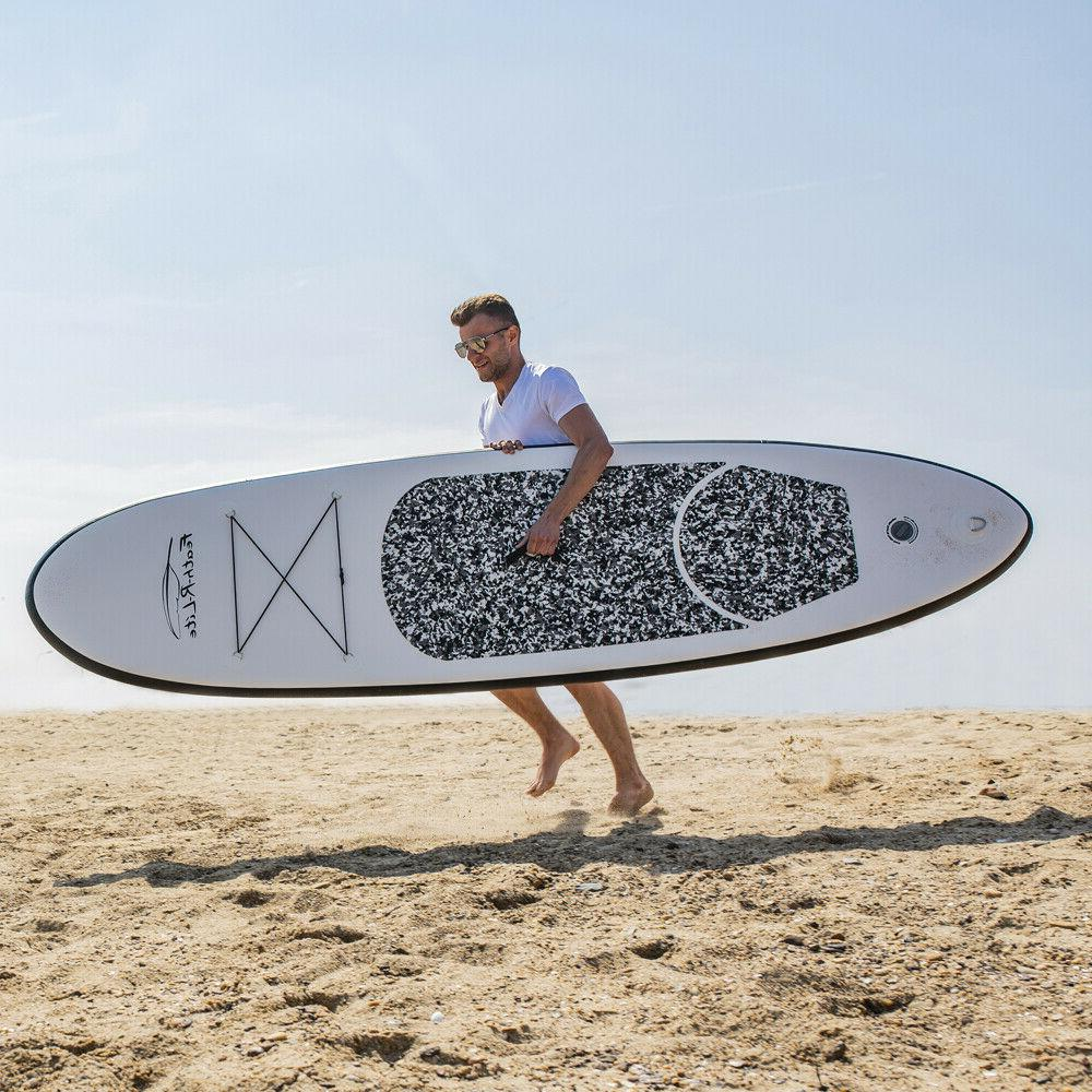 used Inflatable Stand Up Paddle Board with thick