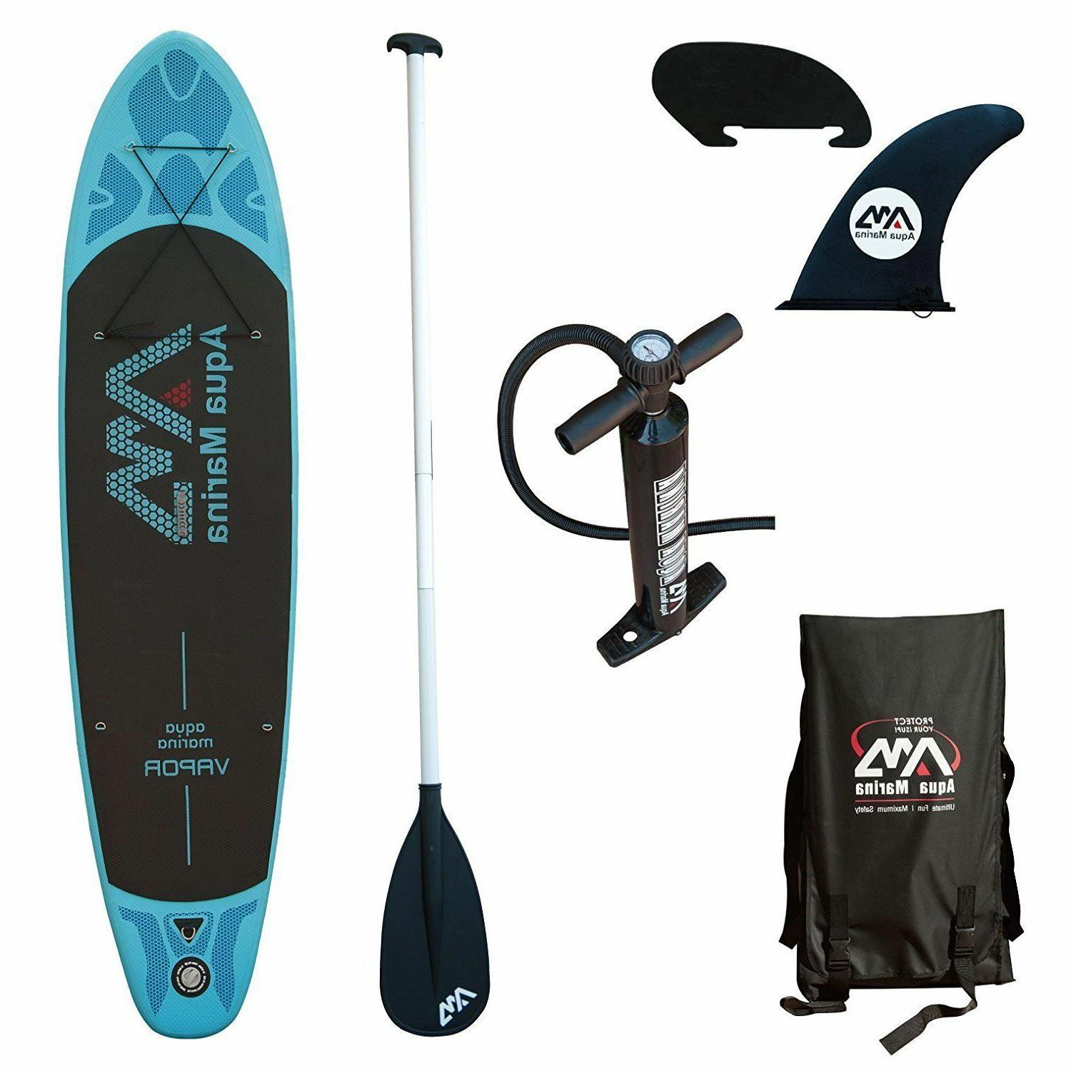 vapor 10 10 inflatable stand up paddle
