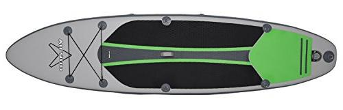 Vilano Voyager Inflatable Stand Up Paddle Includes Pump, &
