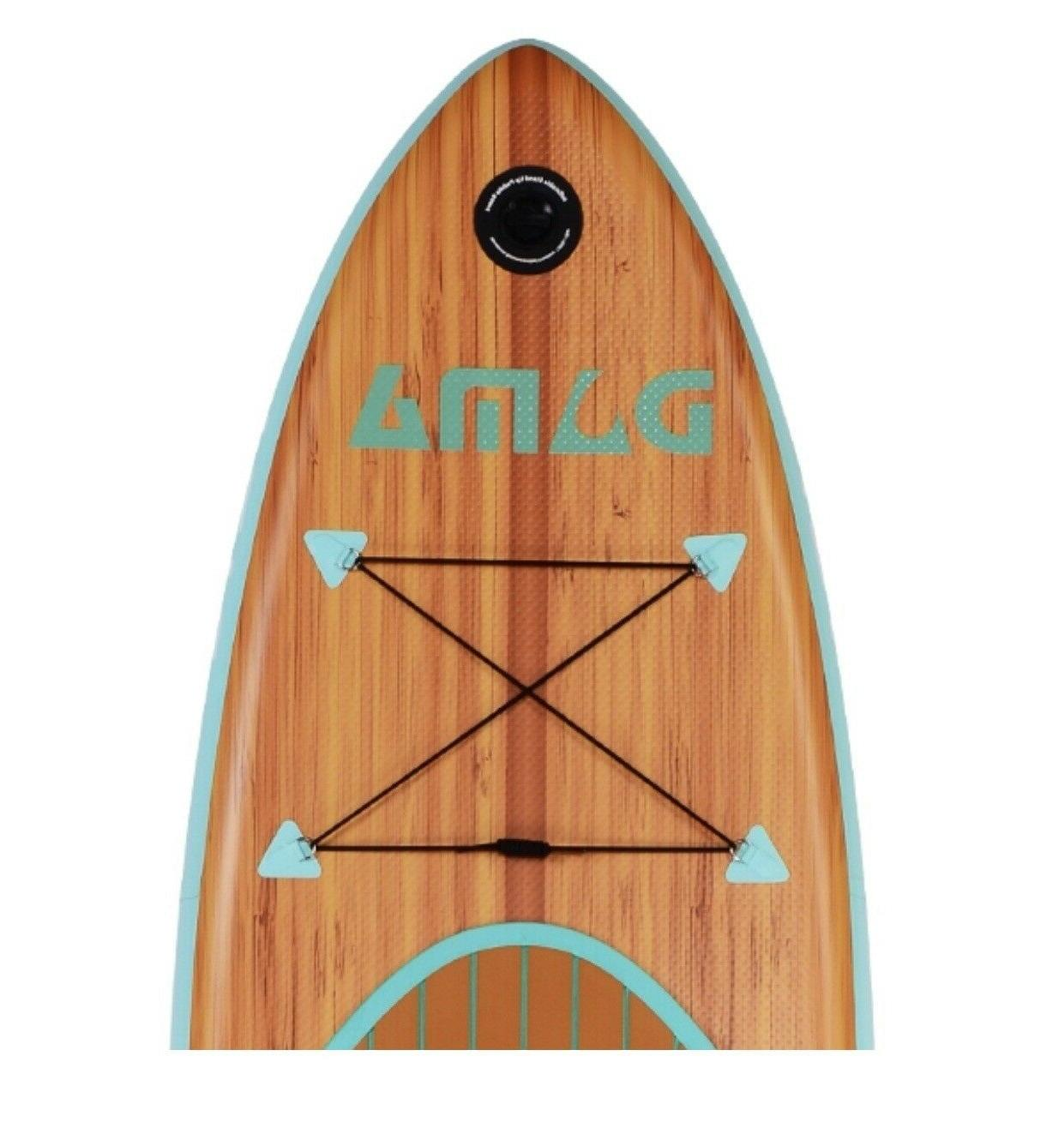 DAMA Wooden Nature Inflatable Stand Paddle