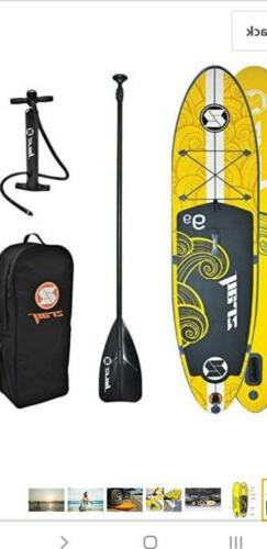 "ZRAY X1 - All Around Inflatable Stand-Up Paddle Board 9'9"" i"