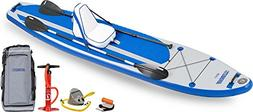 Sea Eagle LB126 Inflatable SUP LongBoard - Deluxe Package