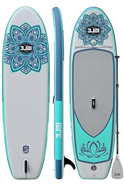 ISLE 10' Lotus Airtech Inflatable Yoga Stand Up Paddle Board