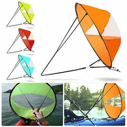 "42"" Portable PVC Downwind Wind Paddle Instant Popup Board Sa"