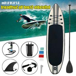MOHOO Inflatable SUP Stand Up Paddle Board, Paddle, Pump & C