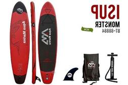 Aqua Marina Monster BT-88884 Inflatable Sup, 12' Long! Pad