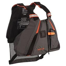Movevent Dynamic Paddle Sports Life Vest Onyx Large Small Aq