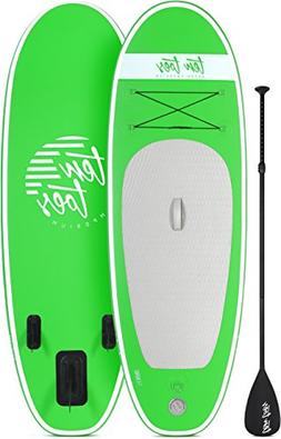 Ten Toes 8' Nano Inflatable Stand Up Paddle Board Bundle, Gr