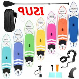 New 10FT/10.5FT Inflatable Stand Up Paddle Board ISUP Surfbo
