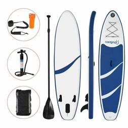 NEW Inflatable Stand Up Paddle Board  Universal SUP Wide Sta