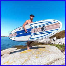"""Scott Burke 10'6"""" Composite Stand-Up Paddle Board, Paddle,Bl"""
