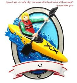 PADDLE BOARD BOAT KAYAK CANOE DRIFTING PERSONALIZED CHRISTMA