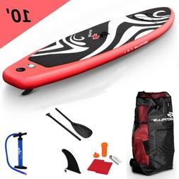 Paddle Board Stand Up Surfboard Inflatable SUP 10' Boards Re
