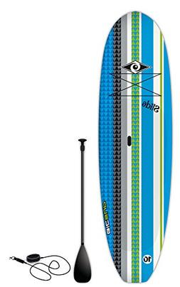 BIC Sport Slide SUP Stand Up Paddleboard Package, Blue, 10'6