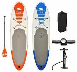 PathFinder Inflatable SUP Stand Up Paddle Board, Paddle, Pum