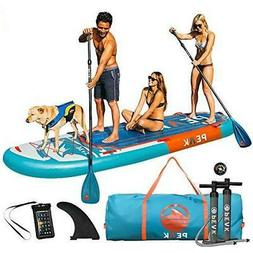 """Peak 12' Titan Inflatable Stand Up Paddle Board Package 