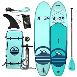 Peak All Around Inflatable Stand Up Paddle Board Package | 1