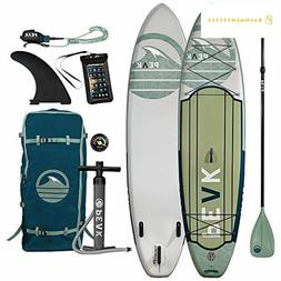 """Peak Expedition Inflatable Stand Up Paddle Board 