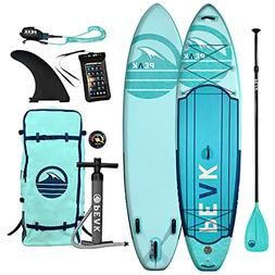 Peak Expedition Inflatable Stand Up Paddle Board | 11' Long