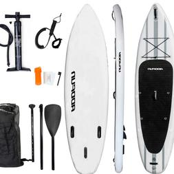 """Premium 10'6"""" Inflatable Stand Up Paddle Board Surfboard w/A"""