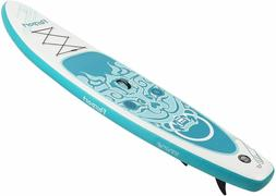 "Premium 10FT Inflatable StandUp Paddle Board Surfboard 6"" Th"