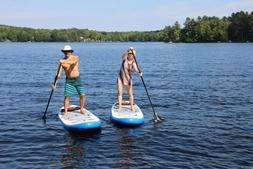 Premium Paddle Boards-2 Paddle Boards with 2 Paddles +1 Kaya