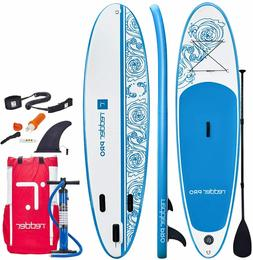Pro 10 ft. Premium Inflatable Stand Up Paddle Board with Ful