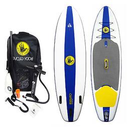 River Lake Water Cruiser Inflatable Stand-Up Paddleboard w/