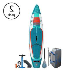 Jimmy Styks Inflatable Stand Up SUP Puffer Paddle Board w/ P