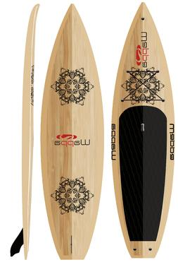 Wappa Scout Eco Friendly Bamboo Paddle Board