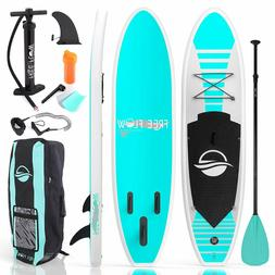 SERENE-LIFE 10.5 FT INFLATABLE STAND-UP PADDLE BOARD  W / AC