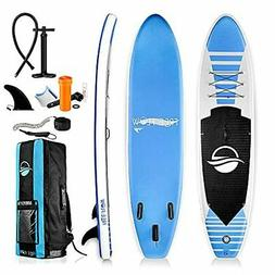 Serene-Life 10.5 FT Inflatable Stand Up Paddle Board  W/ Acc