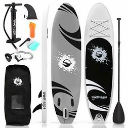 Serene-Life SLSUPB06 10 FT Inflatable Stand Up Paddle Board