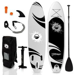 Serene Life SLSUPB06 Free-Flow SUP Inflatable Paddle Board S