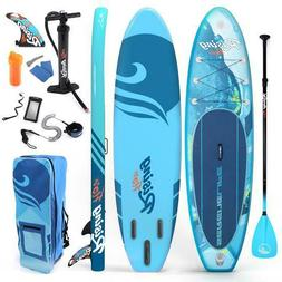 SereneLife SLSUPB518 Inflatable Stand Up Paddle Board | Yout