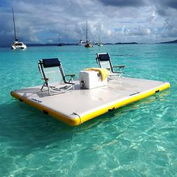 Solstice Inflatable Floating Island Dock - 8ft x 5ft