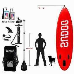 Sport Performer Top Stand Up Inflatable Paddle Board W/SUP A